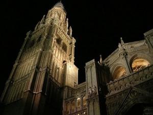 Catedral toledo noche