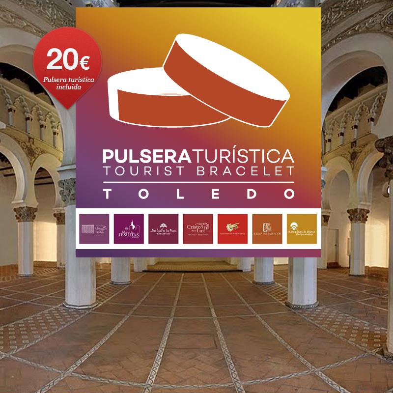 Ruta Guiada Pulsera Turística Toledo