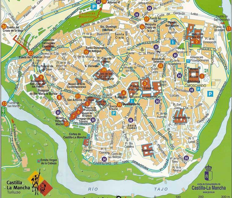Mapa Provincia De Toledo Turismo.Guia De Informacion Turistica De Toledo Turismo En Toledo